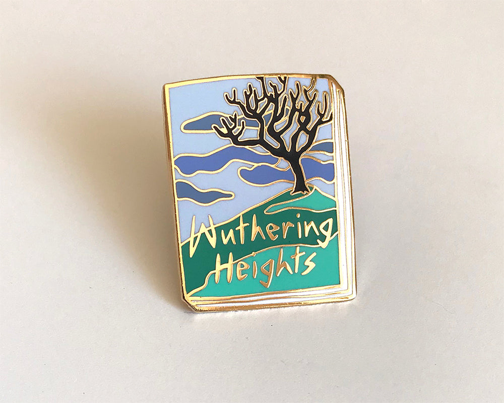 Book Pin: Wuthering Heights