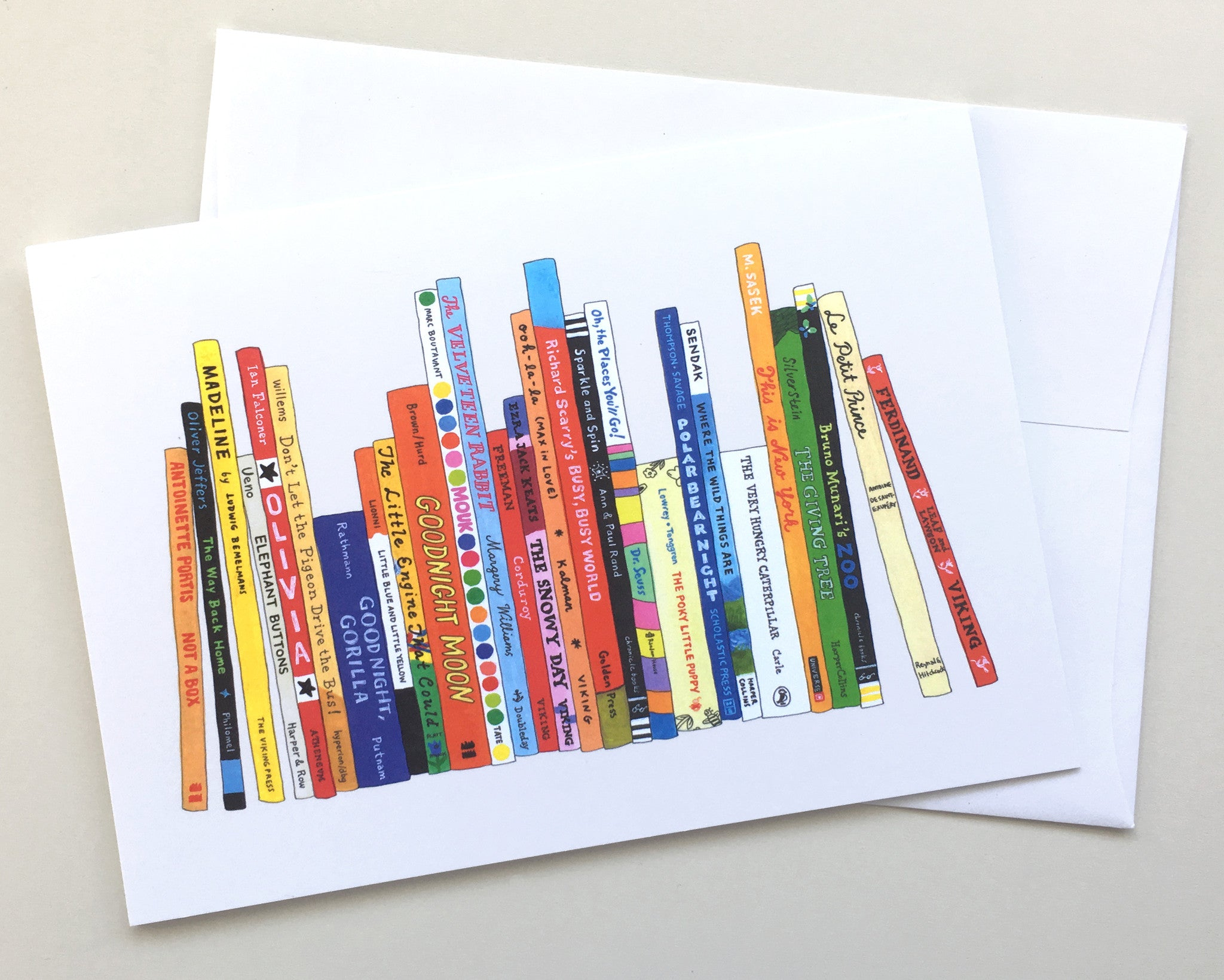 Greeting Card 8 Pack Ideal Bookshelf 488 Kids
