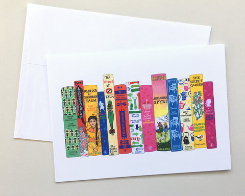 Greeting Card 8-Pack - Ideal Bookshelf 660: Girl Stars