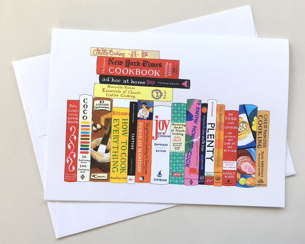Greeting card 8 pack ideal bookshelf 967 cooking m4hsunfo