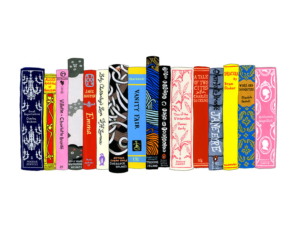 Ideal Bookshelf 353: English Lit