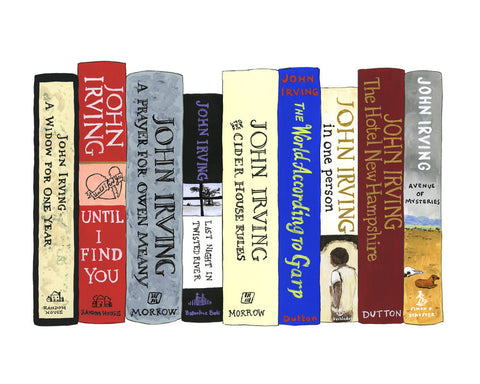 Ideal Bookshelf 922: John Irving
