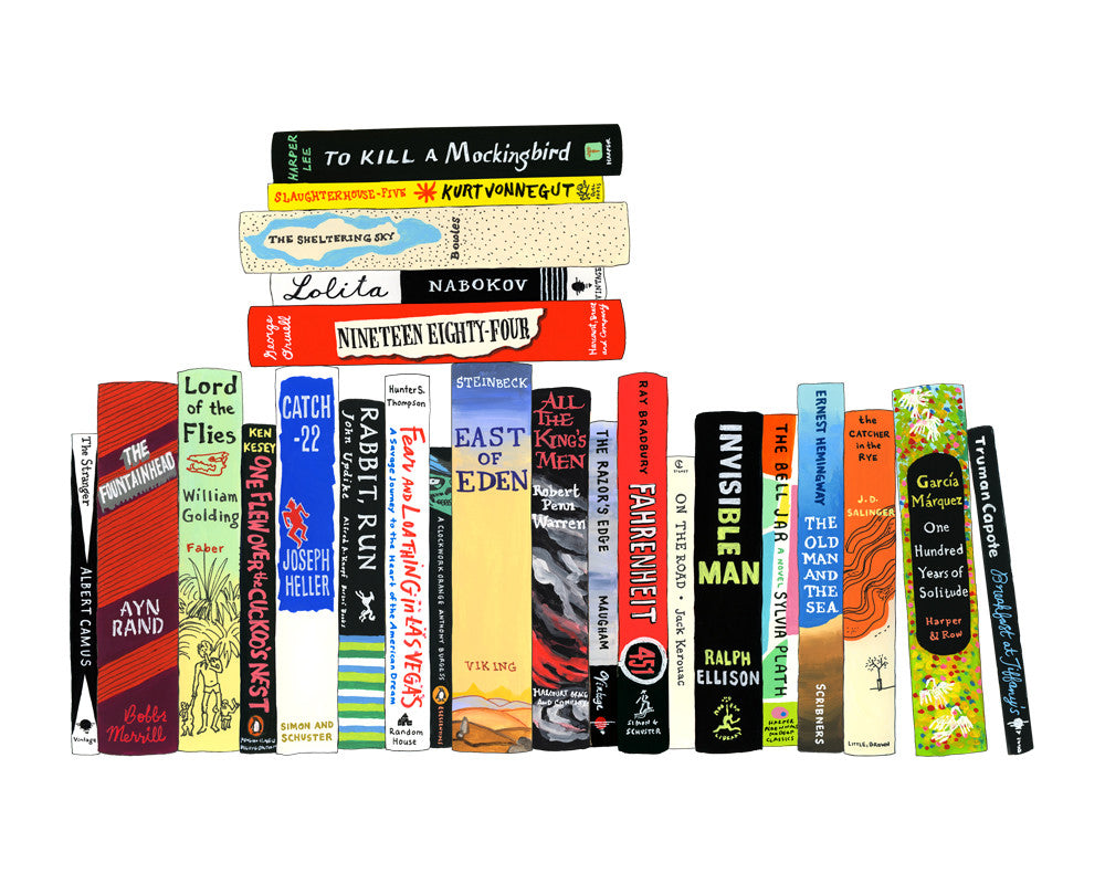 Ideal Bookshelf 964: Novels 1942-1972