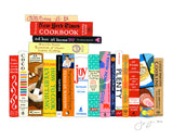 Greeting Cards - Ideal Bookshelf 967: Cooking