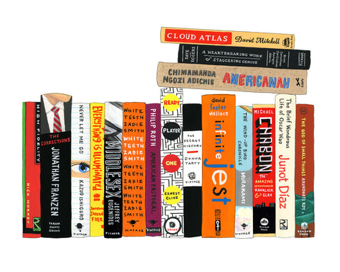 Ideal Bookshelf 970: Contemporary Fiction