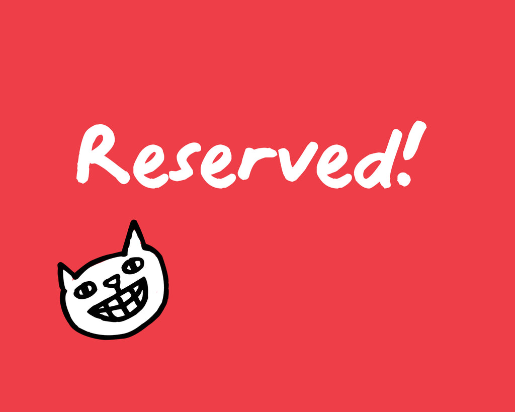 reserved for Kim Seely