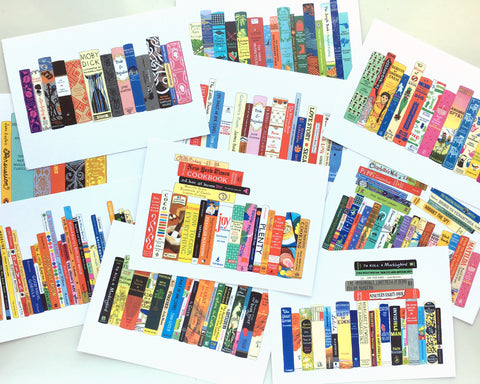 20 Ideal Bookshelf postcards