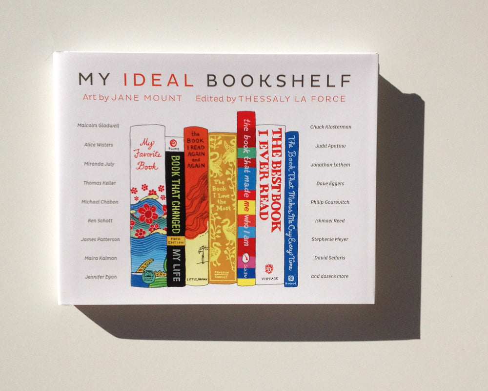 Signed copy of MY IDEAL BOOKSHELF