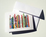 Greeting Card 8-Pack - Ideal Bookshelf 503: Xmas