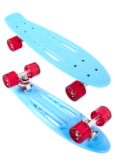 "Karnage 23"" Retro Matte Mini Cruiser Skateboard"