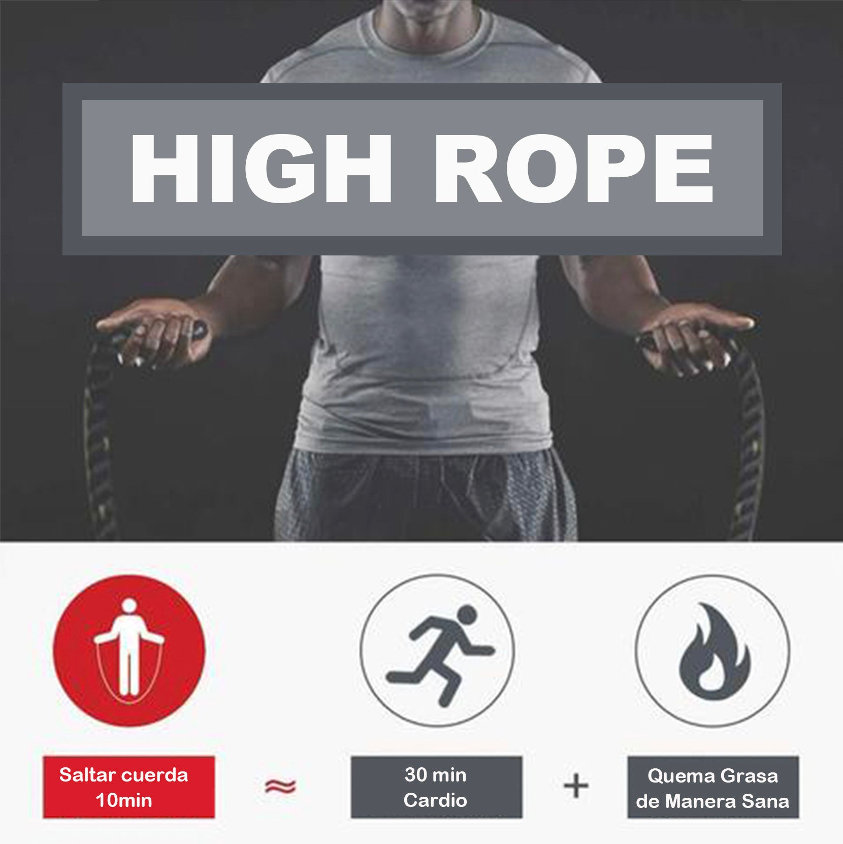 "Comba Pesada ""High Rope"""