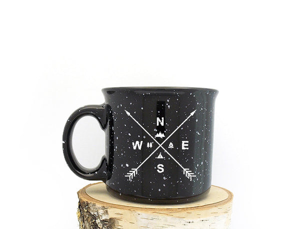 Camping Mug - Arrow Compass