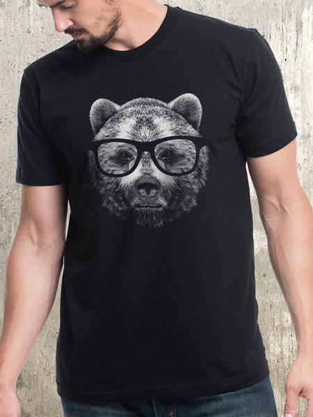 Men's Bear in Glasses Shirt