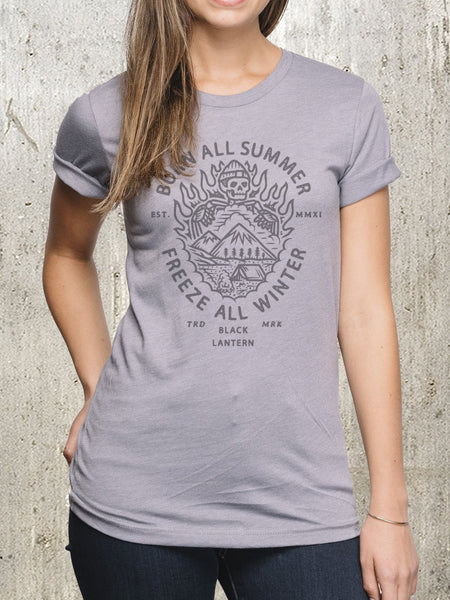 Women's Burn All Summer T-Shirt