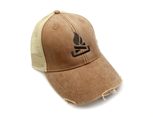 Men's Camping Trucker Hat