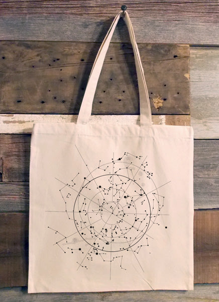 Celestial Map Tote Bag on