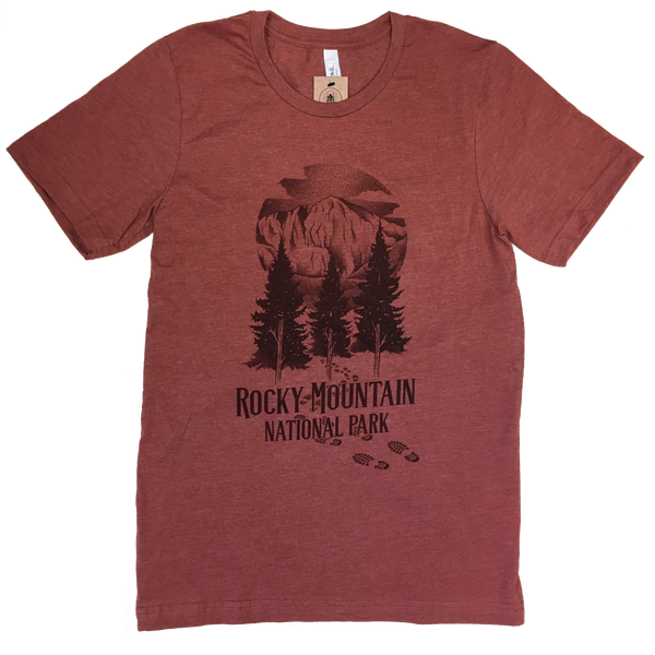 "Rocky Mountain Nation Park ""Longs Peak"" Clay 