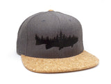 Fish and Forest Cork Bill Hat