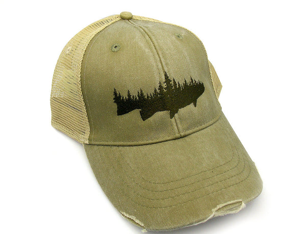 Fish & Forest Trucker Hat