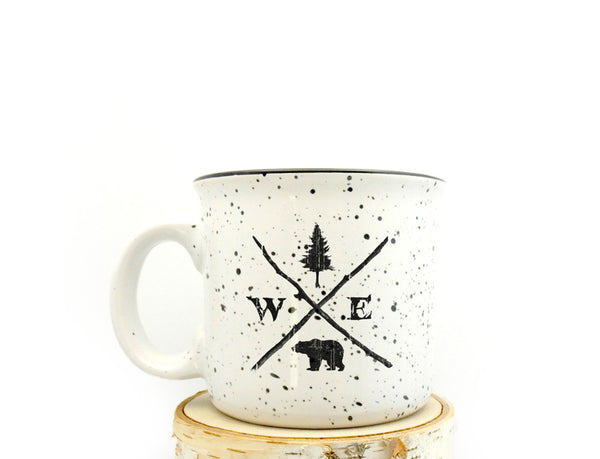 Forest Compass Camper Mug