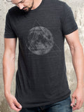 Moon and Triangles Men's T-Shirt