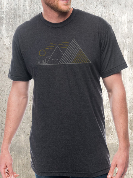 Men's Linear Landscape T-Shirt