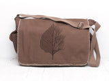 Leaf and Tree Messenger Bag