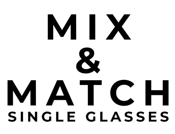 single glasses from Black Lantern