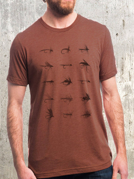 Men's Fly Fishing Flies T-Shirt