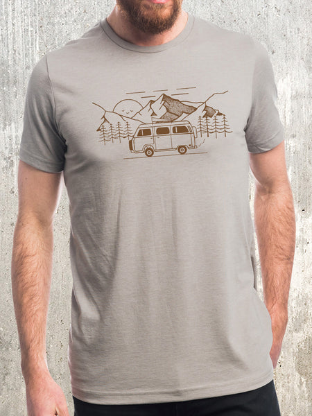 Men's Retro Camper T-Shirt