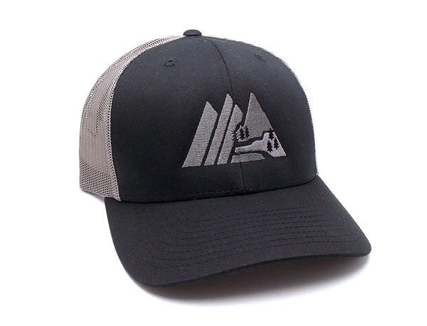 Retro Mountain Mesh Back Trucker Hat
