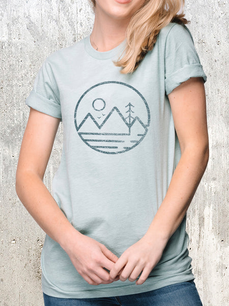 Women's Modern Mountain T-Shirt