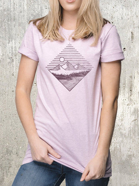 Women's Mountain Waves T-Shirt