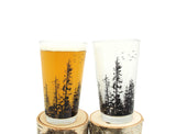 Forest Pint Glasses