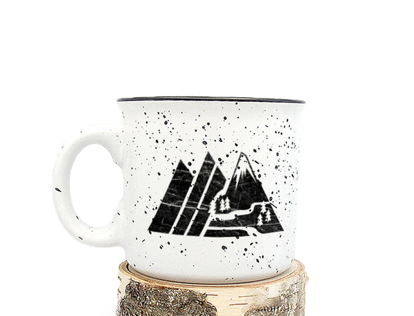 Retro Mountain Mug