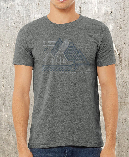 Rocky Mountain National Park Shirt | Heather Deep Grey