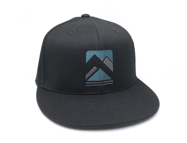 Rustic Mountain Range Hat - Black