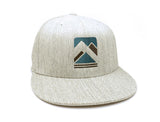Rustic Mountain Range Hat - Grey
