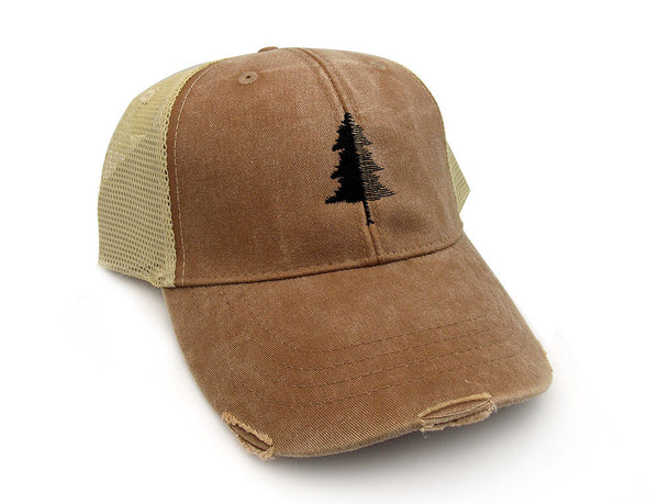 Split Tree Trucker Hat