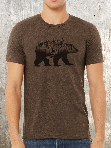 Bear and Mountain T-Shirt