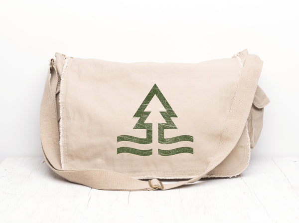 Tides and Trees Messenger Bag