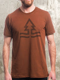 Trees and Tides Men's T-Shirt