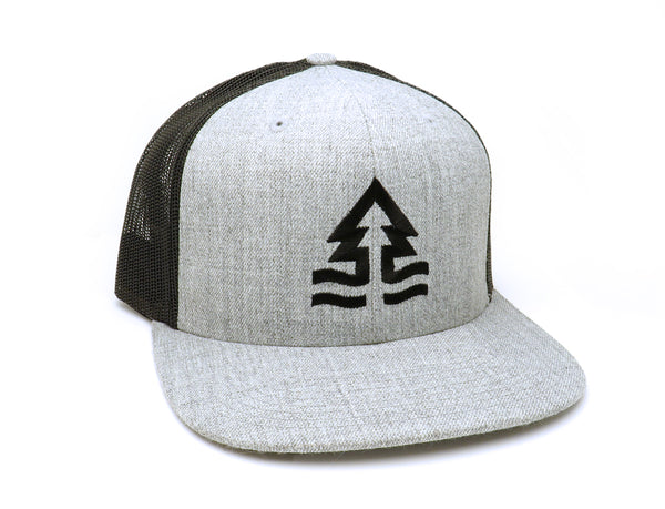 Trees and Tides Trucker Hat