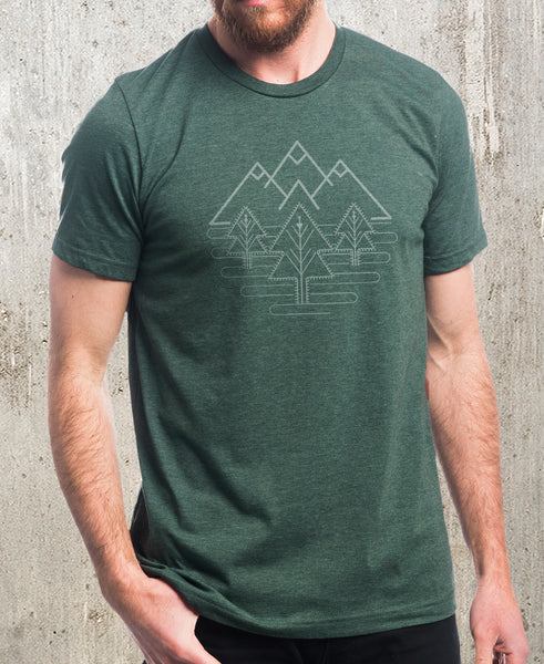 Men's Tri Peak Landscape T-Shirt