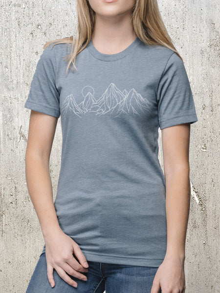 Women's Mountain Contours T-Shirt