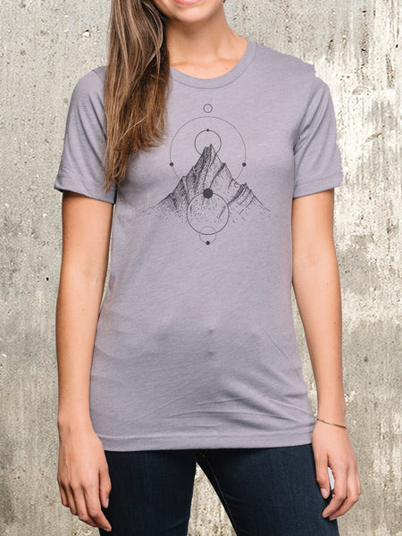 Women's Mountain Lines T-Shirt