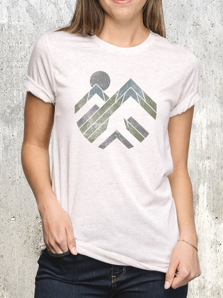 Women's Peak Pattern T-Shirt