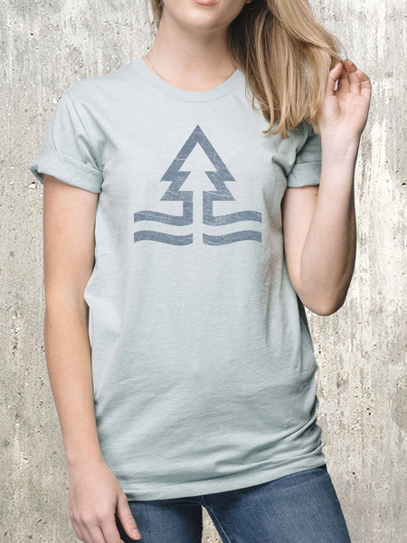 Women's Tides and Trees T-Shirt