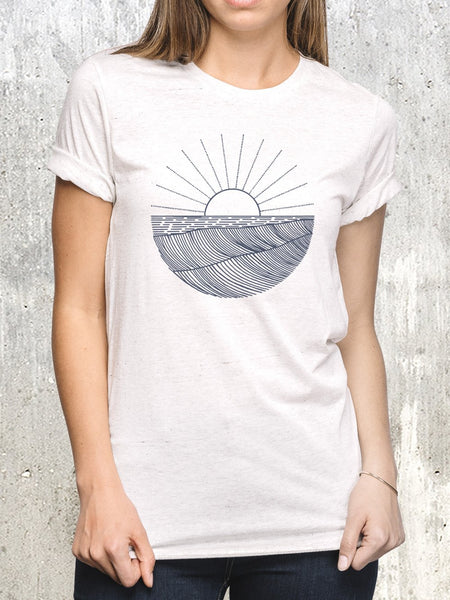 Waves and Rays Women's T-Shirt