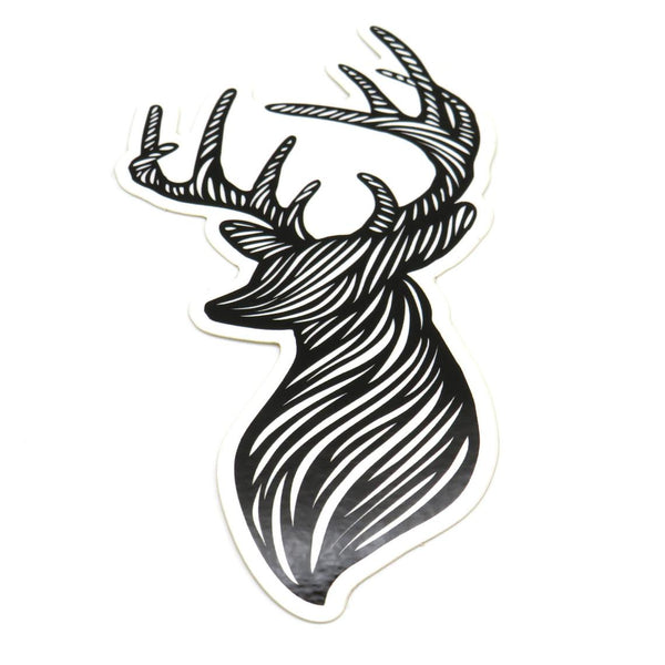 Deer Organica Sticker - Die Cut Sticker